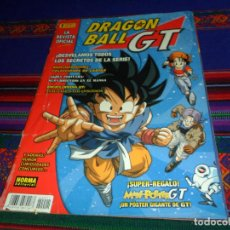 Cómics: LA REVISTA OFICIAL DRAGON BALL GT Nº 1. 1998. 450 PTS. NORMA EDITORIAL. 50 PÁGINAS.. Lote 145672478