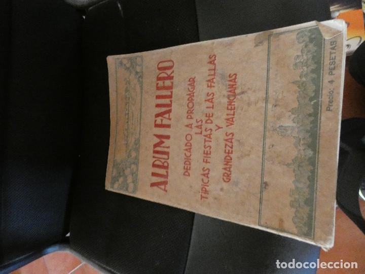ALBUM FALLERO DEDICADO A PROPAGAR LAS FIESTS DE LAS FALLAS RIVADENEYRA 1933 PESA 700 GRAMOS (Tebeos y Comics - Manga)