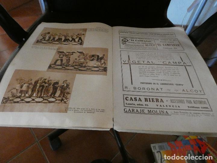 Cómics: ALBUM FALLERO DEDICADO A PROPAGAR LAS FIESTS DE LAS FALLAS RIVADENEYRA 1933 Pesa 700 gramos - Foto 4 - 146253838