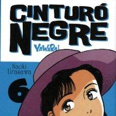 Comics : CINTURÓ NEGRE-6-YAWARA- (GLÉNAT, 2009) DE NAOKI URASAWA. EN CATALÀ.. Lote 209877908