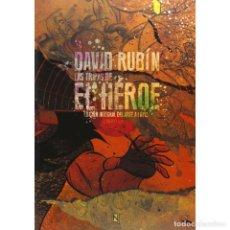 Cómics: CÓMICS. LAS TRIPAS DEL HÉROE - DAVID RUBÍN DESCATALOGADO!!! OFERTA!!!. Lote 147244714