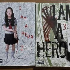 Cómics: KENGO HANAZAWA. I AM A HERO. TOMOS 1 A 4. NORMA EDITORIAL.. Lote 147749386