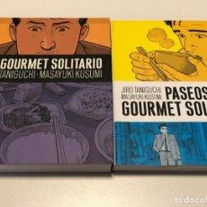 Cómics: EL GOURMET SOLITARIO 2 VOLUMENES TANIGUCHI Y KUSUMI. Lote 147971502