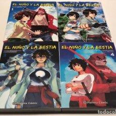 Cómics: EL NIÑO Y LA BESTIA. 4 VOLUMENES. MAROMU HOSODA. Lote 147981534