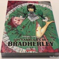 Cómics: LOS CARRUAJES DE BRADHERLEY - HIROAKI SAMURA - DOLMEN EDITORIAL. Lote 148028794