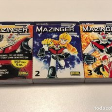 Cómics: MAZINGER Z. 3 TOMOS. GO NAGAI. NORMA. Lote 148032118