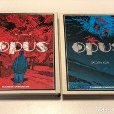 Cómics: OPUS - 2 TOMOS - SATOSHI KON / PLANETA. Lote 148037398