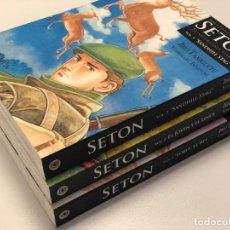 Cómics: SETON 1, 2 Y 3 - JIRO TANIGUCHI - COMPLETA. Lote 148048814