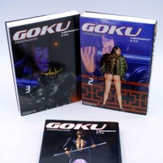 Cómics: GOKU MIDNIGHT EYE 1 2 3. COMPLETA (BUICHI TERASAWA) OTAKULAND, 2004. OFRT. Lote 189590240