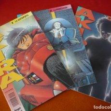 Cómics: AKIRA NºS 1, 2 Y 3 ( KATSUHIRO OTOMO ) ¡BUEN ESTADO! MANGA EN COLOR GLENAT 1990. Lote 148551722