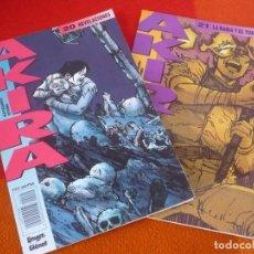 Cómics: AKIRA NºS 20 Y 21 ( KATSUHIRO OTOMO ) ¡BUEN ESTADO! MANGA EN COLOR GLENAT 1990. Lote 148551854