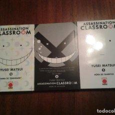 Cómics: ASSASSINATION CLASSROOM - YUSEI MATSUI - 5 - 6 - 12 - PANINI MANGA - VER TEXTOS Y FOTOS. Lote 148566202