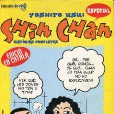 Cómics: SHIN CHAN -YOSHITO USUI- ESPECIAL COLECCIO DE RISA EN CATALÀ PLANETA DE AGOSTINI COMICS . Lote 148691610