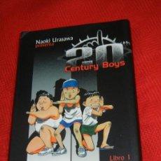 Cómics: 20 CENTURY BOYS, LIBRO 1 AMIGO, DE NAOKI URASAWA 2004. Lote 151400778