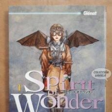 Cómics: SPIRIT OF WONDER Nº 1 - KENJI TSURUTA - GLENAT - JMV. Lote 151426046