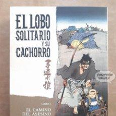 Cómics: EL LOBO SOLITARIO Y SU CACHORRO - LIBRO 1 - EL CAMINO DEL ASESINO - PLANETA - JMV. Lote 151437758