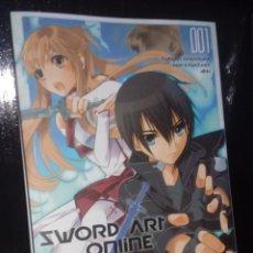 Cómics: SWORD ART ONLINE AINCRAD Nº 01. Lote 151617394