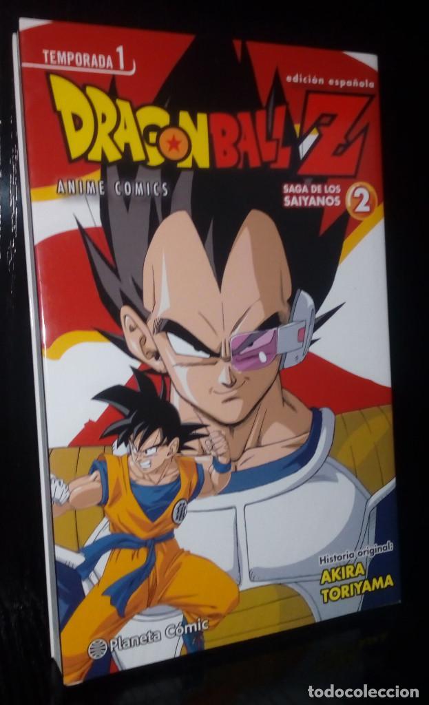 DRAGON BALL Z ANIME SERIES SAGA SAIYANOS Nº 02 (Tebeos y Comics - Manga)