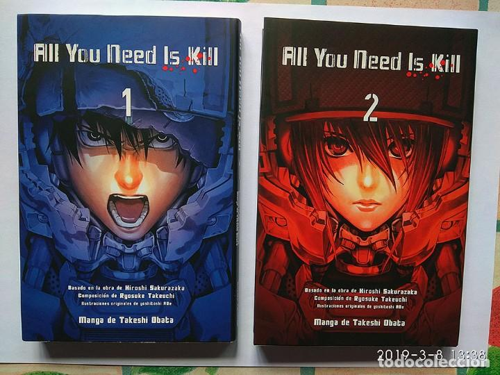 ALL YOU NEED IS KILL (COMPLETA, 2 TOMOS) NORMA (Tebeos y Comics - Manga)
