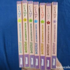 Cómics: LOTE 7 NUMEROS CLAMP CARDCAPTOR SAKURA Nº 2, 3, 4, 5, 6, 7 Y 8 - GLENAT (EN CATALAN). Lote 154502670
