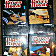 Cómics - PORCO ROSSO 1 AL 4 (COLECCIÓN COMPLETA) - 155415150