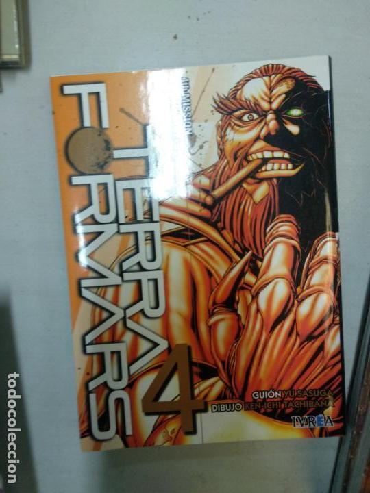 TERRAFORMARS 4 (Tebeos y Comics - Manga)