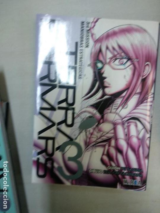 TERRAFORMARS 3 - IVREA (Tebeos y Comics - Manga)