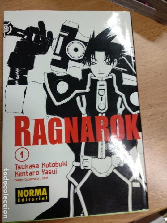 RAGNAROK 1 (Tebeos y Comics - Manga)