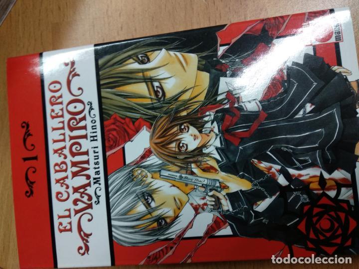 EL CABALLERO VAMPIRO 1 (Tebeos y Comics - Manga)
