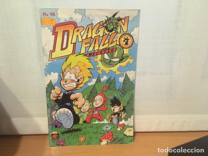 COMIC DRAGON FALL TURBO 45 PARODIA DRAGON BALL (Tebeos y Comics - Manga)