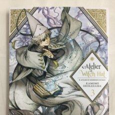 Cómics: ATELIER OF WITCH HAT 3 - KAMOME SHIRAHAMA - MILKY WAY EDICIONES - MANGA. Lote 156047721