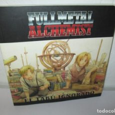 Cómics: FULLMETAL ALCHEMIST. EL TABU IGNORADO. LAIA LLEONART I CRESPO. MANGA BOOKS 2008. Lote 156573962