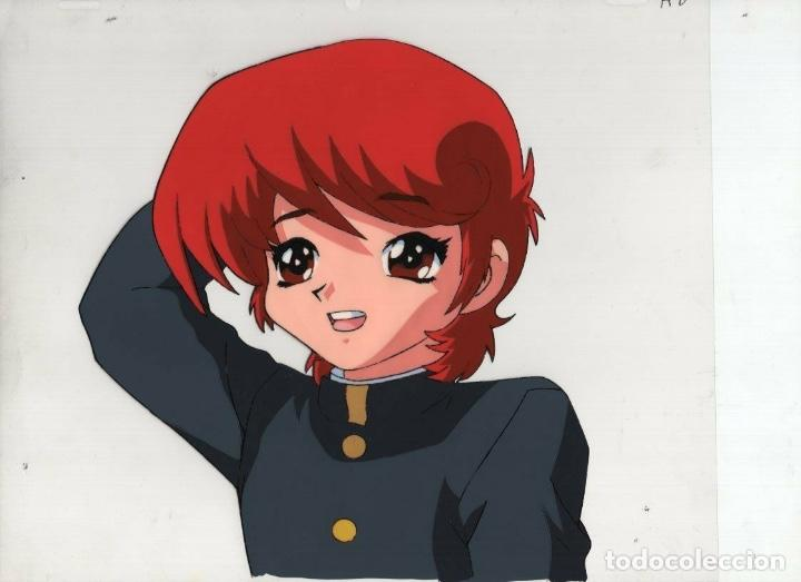 ACETATO CELULOIDE SHIN HAKKENDEN ORIGINAL JAPANESE ANIMATION CEL CON LAPIZ DOUGA A612 (Tebeos y Comics - Manga)