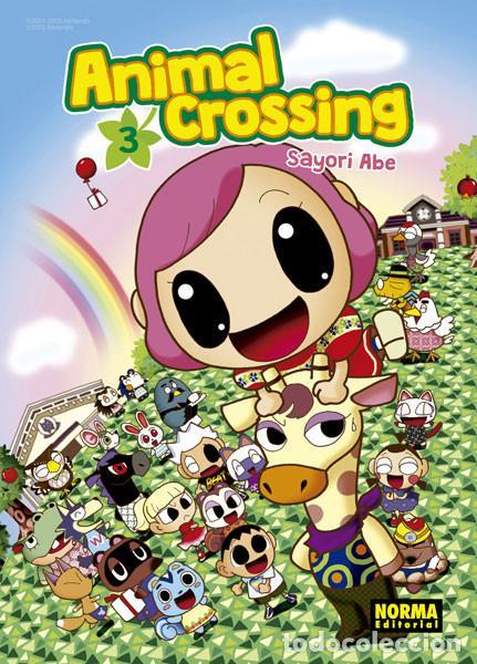 CÓMICS. MANGA. ANIMAL CROSSING 3 - SAYORI ABE (Tebeos y Comics - Manga)