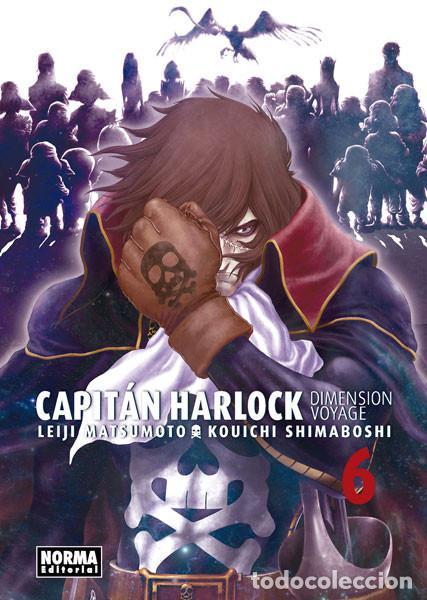 CÓMICS. MANGA. CAPITÁN HARLOCK. DIMENSION VOYAGE 6 - LEIJI MATSUMOTO/KOUICHI SHIMABOSHI (Tebeos y Comics - Manga)