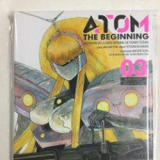 Cómics: ATOM THE BEGINNING 3 - MASAMI YÛKI, TETSURO KASAHARA, MACOTO TEZKA - MILKY WAY EDICIONES - MANGA. Lote 156813274