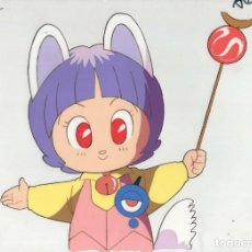 Cómics: ACETATO CELULOIDE LEGEND OF THE MYSTICAL NINJA ORIGINAL JAPANESE ANIMATION CEL CON LAPIZ. Lote 156905334