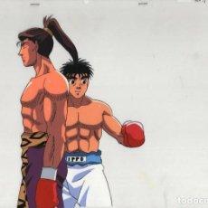 Cómics: ACETATO CELULOIDE HAJIME NO IPPO - FIGHTING SPIRIT JAPANESE ANIMATION CEL Y LAPIZ DOUGA B5/C14. Lote 156908242