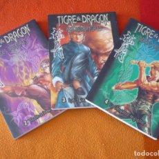 Cómics: TIGRE & DRAGON HEROES ORIENTALES NºS 2, 3 Y 4 MANGA ¡MUY BUEN ESTADO! KUNG FU. Lote 157171942