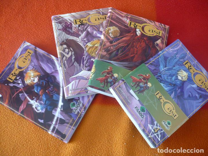 RECAST NºS 1, 2, 3 Y 4 ( KYE SEUNG HUI ) ¡MUY BUEN ESTADO! MANGA FILABO (Tebeos y Comics - Manga)