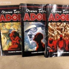 Cómics: ADOLF. OSAMU TEZUKA. TOMOS 1, 2 Y 3. PLANETA DE AGOSTINI.. Lote 158303388