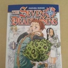 Cómics: MANGA THE SEVEN DEADLY SINS N°4. Lote 158402866