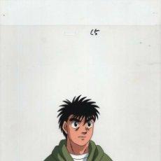 Cómics: CELULOIDE ACETATO HAJIME NO IPPO - FIGHTING SPIRIT JAPANESE ANIMATION CEL DOUGA C5 17 X 10 INCHES . Lote 158983210