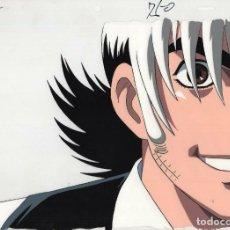Cómics: ACETATO CELULOIDE BLACK JACK ORIGINAL JAPANESE ANIMATION CEL W/ DOUGA A1 13X9 INCHES. Lote 159070010