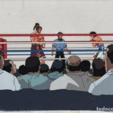 Cómics: ACETATO HAJIME NO IPPO - FIGHTING SPIRIT JAPANESE ANIMATION CEL W/ DOUGA 233 14 X 10 INCHES. Lote 159101990