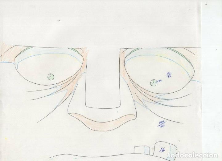 Cómics: ACETATO CELULOIDE SET Shin Hakkenden original Japanese animation cel CON douga LAPIZ - Foto 6 - 159867006
