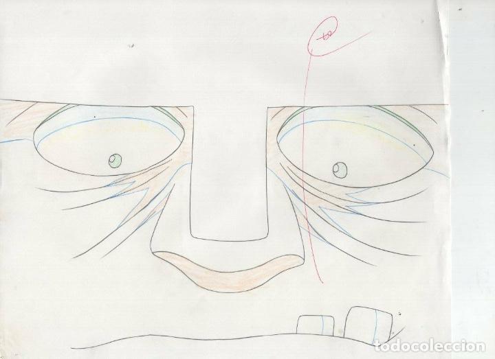 Cómics: ACETATO CELULOIDE SET Shin Hakkenden original Japanese animation cel CON douga LAPIZ - Foto 8 - 159867006