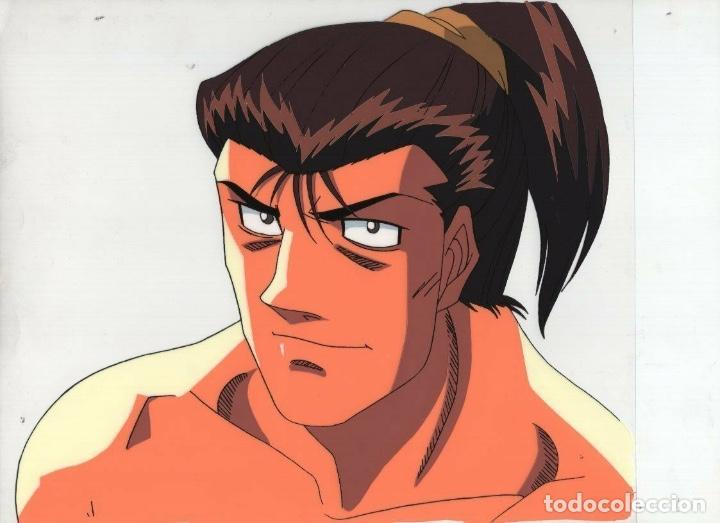 ACETATO CELULOIDE HAJIME NO IPPO - FIGHTING SPIRIT JAPANESE ANIMATION CEL A21 (Tebeos y Comics - Manga)