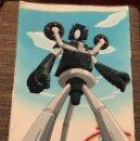 Cómics: ACETATO CELULOIDE CYBORG KURO-CHAN ORIGINAL JAPANESE ANIMATION CEL CON ORIGINAL BACKGROUND 11X18. Lote 160504834