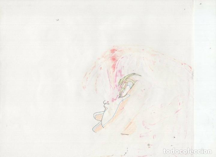 Cómics: ACETATO CELULOIDE Shin Hakkenden original Japanese animation cel CON LAPIZ douga A28 - Foto 2 - 160811590